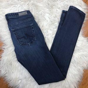 Ag Adriano Goldschmied Jeans - AG Jeans Prima Mid Rise Cigarette Contour 360 25